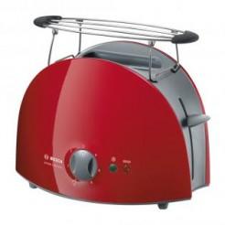 Bosch TAT 6104 rood-grijs Toaster