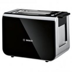 Bosch TAT8613 STYLINE Zwart Broodrooster voor 2 Sneden Toast