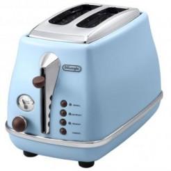 DeLonghi CTOV2003.AZ icona Vintage Toaster 900 Watt Azuur